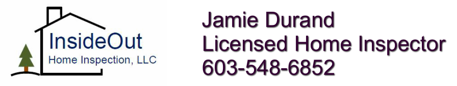 InsideOut Home Inspection, LLC<br />Jamie Durand<br />603-548-6852